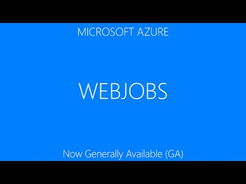 WebJobs fundamentals