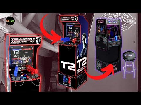 Arcade1up TERMINATOR 2, TRON, KILLER INSTINCT LEAKED!! from 19kfox