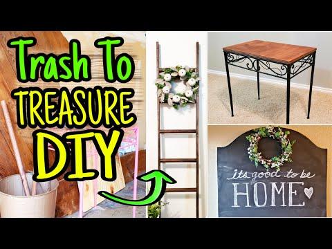 DIY Farmhouse Decor Trash To Treasure