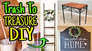 DIY Farmhouse Decor Trash To Treasure