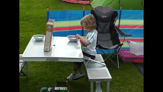 Camping - Woodhouse Farm - Ripon. August 2013