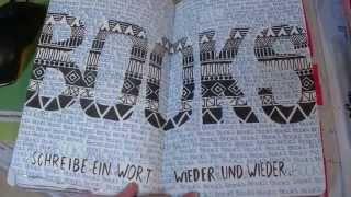 Wreck This Journal | Mach Dieses Buch Fertig (half done)