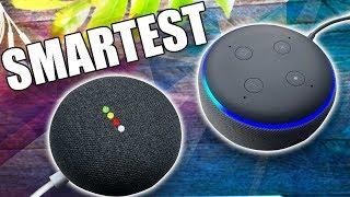 Amazon Echo Dot 3 vs Google Home Mini - Who