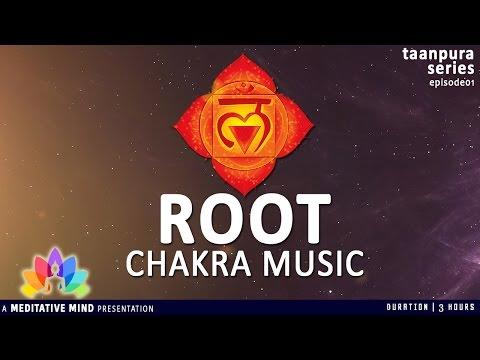 ROOT CHAKRA BALANCING & HEALING Meditation Music | Taanpura Series | M16CS3T1