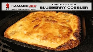Kamado Joe Blueberry Cobbler