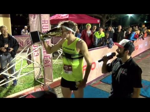 Lewis Kent runs 4:47 World Record at FloTrack Beer Mile World Champs