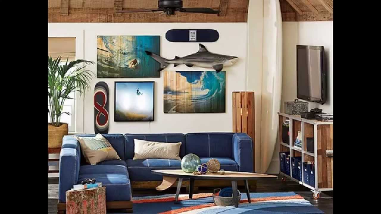 Surf decor ideas youtube for Surf decoration