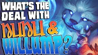 What's the deal with Nunu & Willump? || Character design & lore discussion