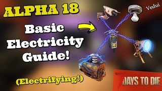 7 Days to Die   Guide to Electricity (Basic) @Vedui42 ✔️