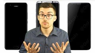Sono questi i design UFFICIALI di Huawei P10, Galaxy S8 e LG G6?