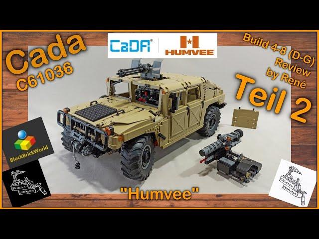 Teil 2 | Einfach HAMMER dieser Humvee von Cada | C61036