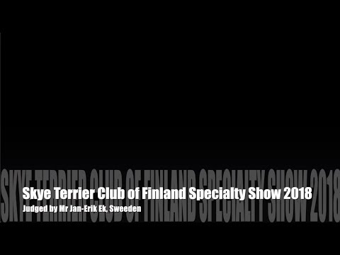 Skye Terrier Club of Finland Specialty Show 2018