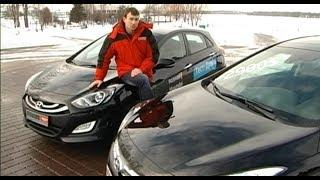Hyundai I30 vs I40 большой тест Автопанорамы