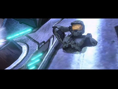 Halo 3 - Crash A Phantom And Mess With Cutscenes On Tsavo Highway