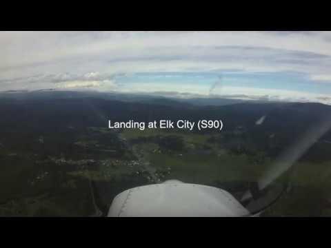 Landing at Elk City S90 #3