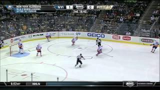 New York Islanders vs Pittsburgh Penguins 10.04.2015