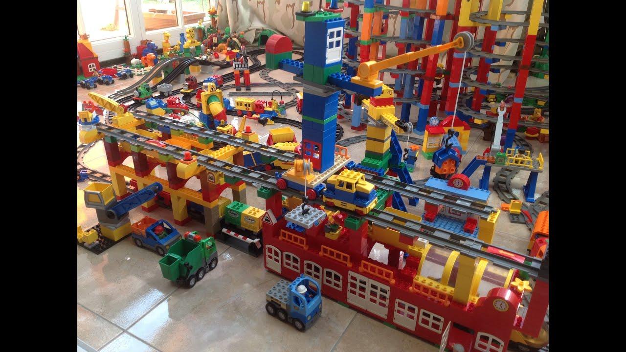 Lego Duplo Train Station Lego Duplo Eisenbahn Bahnhof