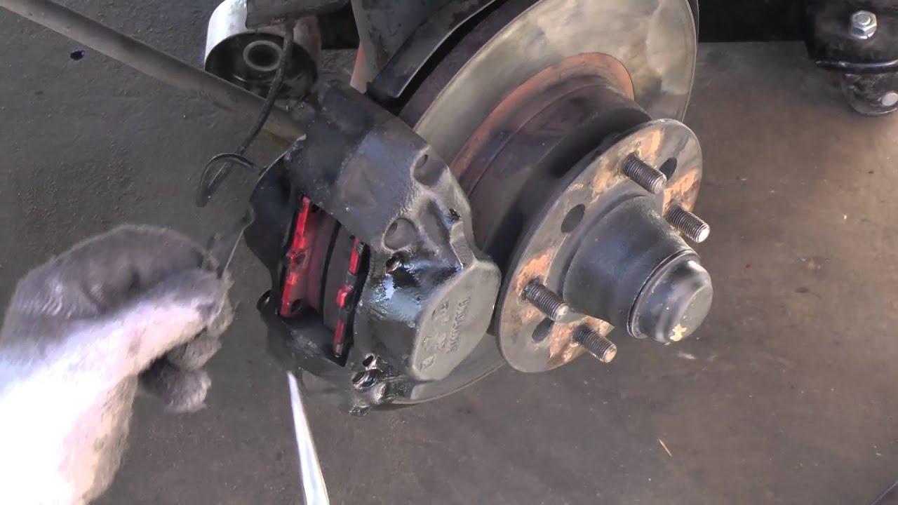Disc Brake Rotors >> Datsun Brake Pad Replacement (280Z) - YouTube
