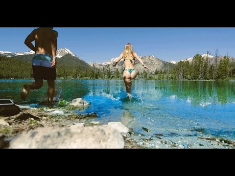 CAMPING IN SAWTOOTH  |  IDAHO