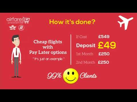 Book Now Pay Later Flights
