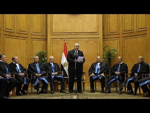 Egypt: dancing in the Cairo streets as Mansour is sworn in