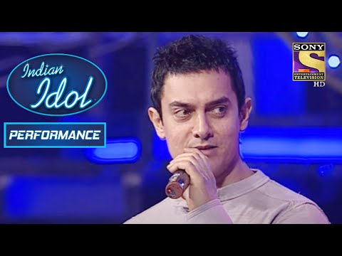 "Amir Khan ने किया Contestant के साथ ""Aati Kya Khandala"" Song पे Perform   Indian Idol Season 5"