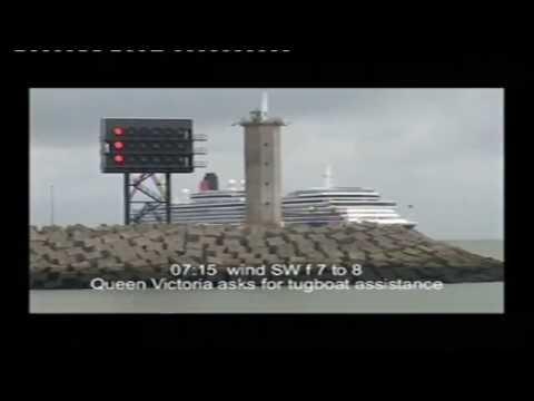 CUNARD QE2 & QV last Rendez-Vous at Zeebrugge