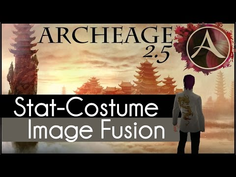 Archeage 2.5 - How to: Stat-Costume Image Fusion