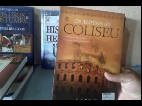 livro martires do coliseu