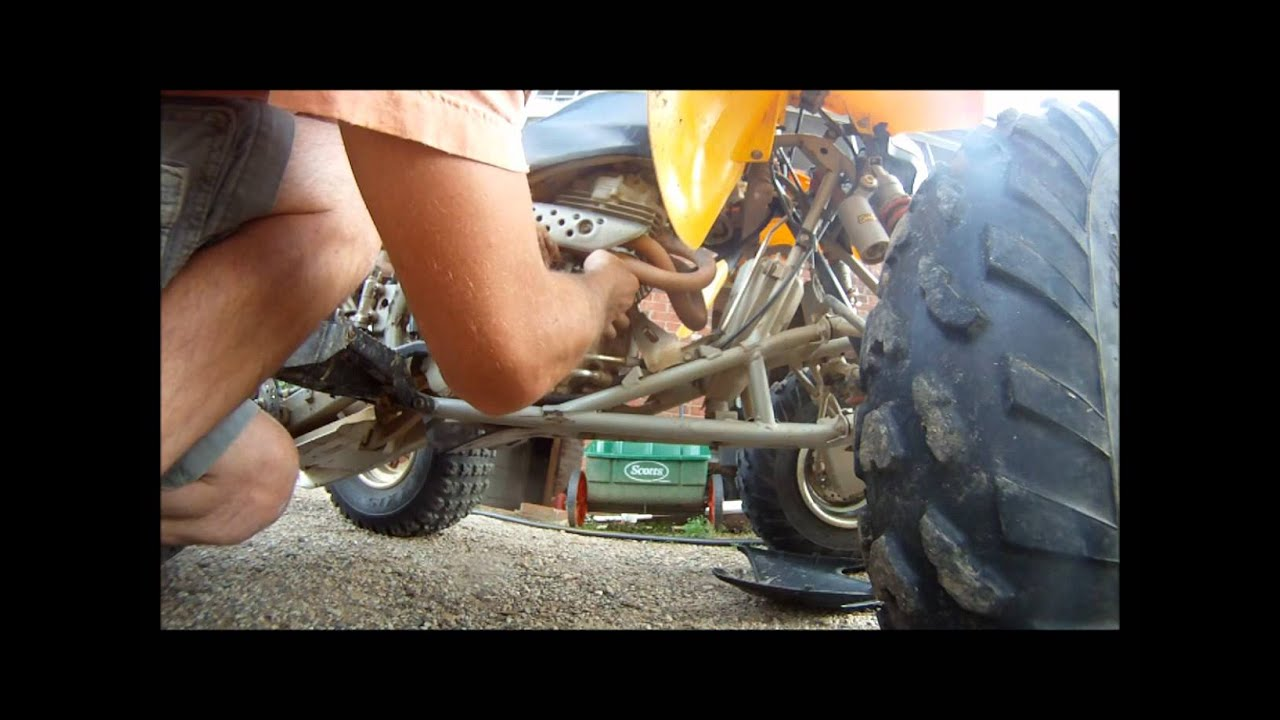 Honda 400 Ex Honda 400EX Clutch Cable Replacement - YouTube