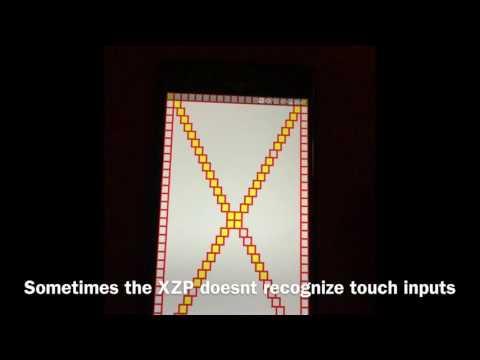 Sony Xperia XZ Premium Touchscreen Problem