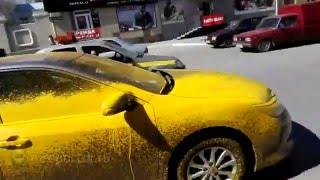 видео Ремонт и покраска капота в Кургане