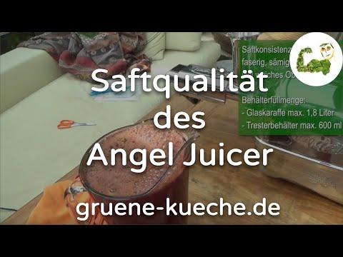 Ergebnis - Saft des Angel Juicer 7500 (Teil 5)