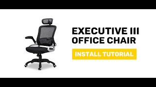 JIJI Executive III. Office Chair - Display and Install Procedure