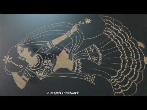 Art from waste using broom stick By Nagu's Handwork