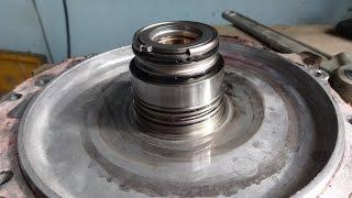замена задней крышки АКПП FN4A-EL/4F27E на Mazda Demio. Ошибка P0730