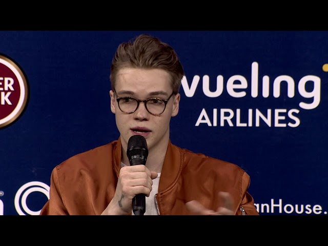 Mikolas Josef | República Checa | Press Conference | Eurovisão 2018