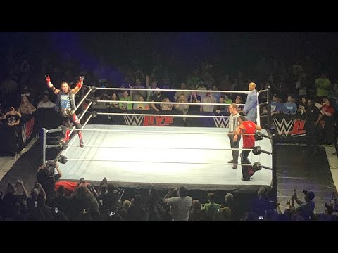 WWE Live 4/21/18 (Johnson City, TN) | Brandon Hodge Vlog #75