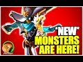 SUMMONERS WAR : NEW MONSTERS ARE HERE! (Sniper & Cannon Girl Review)