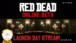 Red Dead Online Beta Launch Day Stream