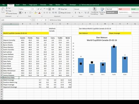 EAF #92 - Using Excel to Code Sport - Part 4 - Using Reference Data