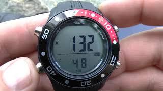часы для фридайвинга и подводной охоты Bs Diver Hunter Очень крутые после теста
