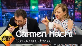 El delicioso deseo de Carmen Machi como invitada Platino - El Hormiguero 3.0