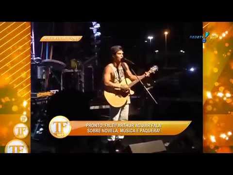 TV Fama 15/07/2014 - Arthur Aguiar Despista Sobre Nova 'ficante'