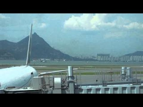 UFO Hovering over Airport in Hong Kong, China - FindingUFO