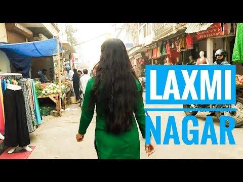 Exploring Laxmi Nagar Market | Clothing Haul, Stationery, Food and More