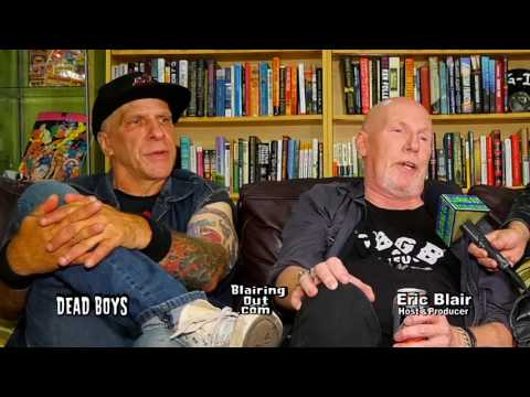 The Dead Boys & Eric Blair PART 1 talk Their Punk Rock History 2017
