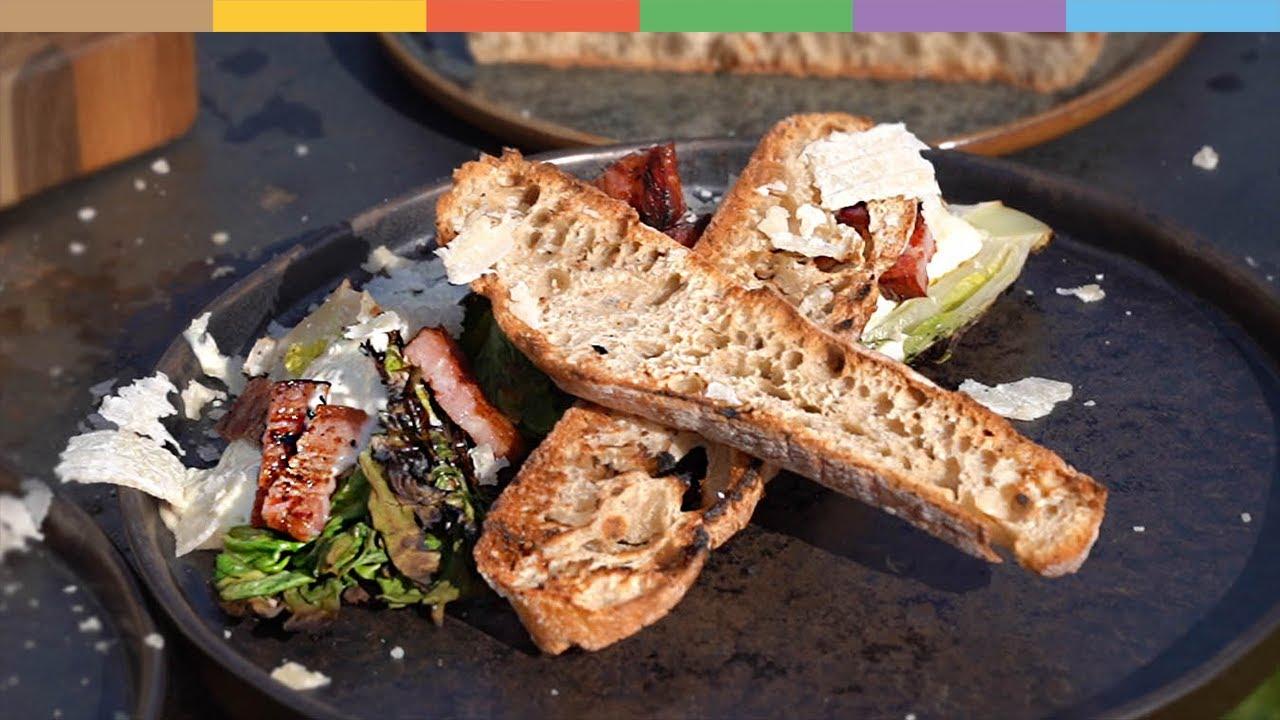 «Caesar Salad» vom Grill