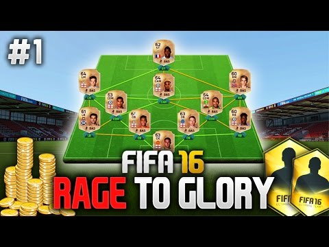 FIFA 16: RAGE TO GLORY #1 - MEET THE SQUAD! (Ultimate Team)