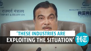 'There is a cartel in the cement and steel industry': Nitin Gadkari